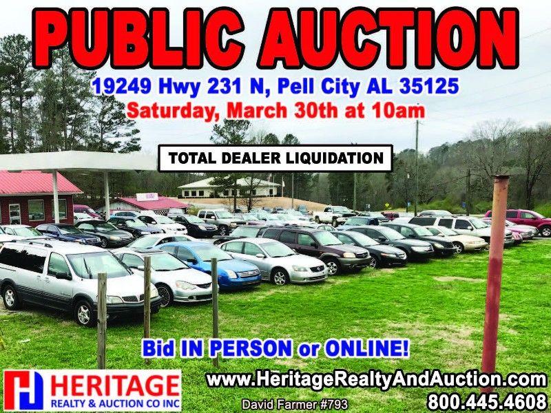 Vehicle Auction Auction Pell City City