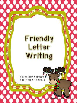 Christmas Friendly Letter Writing Learning With Mrs J Teacher Pay