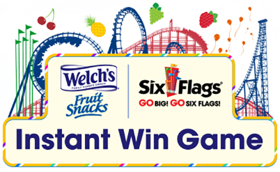 Welch's Fruit Snacks and Six Flags Instant Win Game
