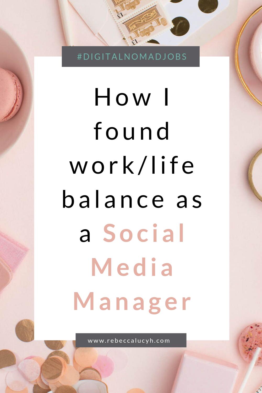 Photo of Verbessern Sie Ihre Work-Life-Balance als Social Media Manager