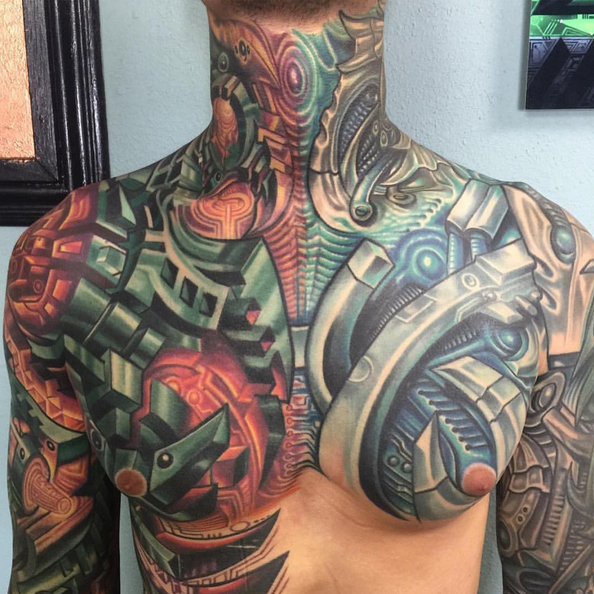 Pin by Dolor Dulce Dolor on biomechanical Tattoos for