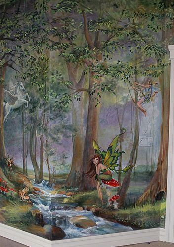 Enchanted Forest Wetcanvas Fantasy Bedroom Enchanted Forest