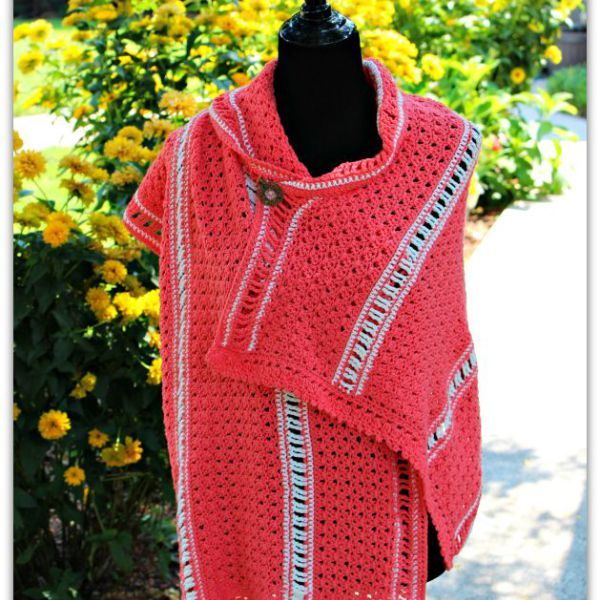 Amazing Grace Summer Shawl… New Free Crochet Pattern!! | Crochet ...