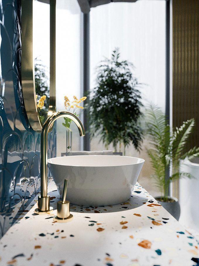 How Much Does A Bathroom Renovation Cost Baldosas Bano Terrazo Disenos De Unas