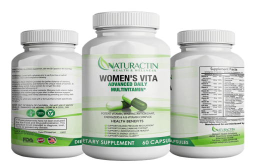 Women S Vita Vitalenix For Women Advanced Daily Multivitamin Naturactin Health Wellness In 2020 Multivitamin Pomegranate Fruit Organic Herbs