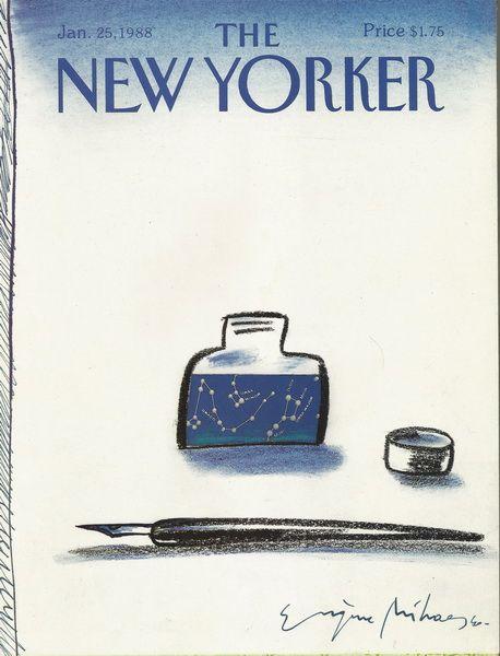 Eugene Mihaesco, New Yorker 1988