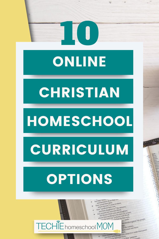 10 Online Christian Homeschool Curriculum Options for Kids