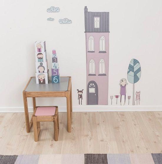 Vinilo habitaci n infantil - Pegatinas habitacion infantil ...