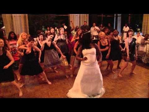 Zumba Flash Mob Wedding Reception Rock It Sista Zumba