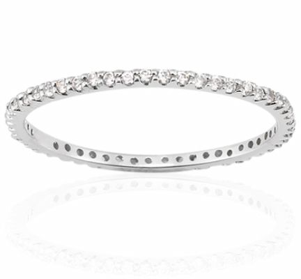 This Pee Shared G Diamond Eternity Wedding Band Is Masterfully Set With Brilliant Round Diamonds Of H Color And Clarity Available In Mulitiple