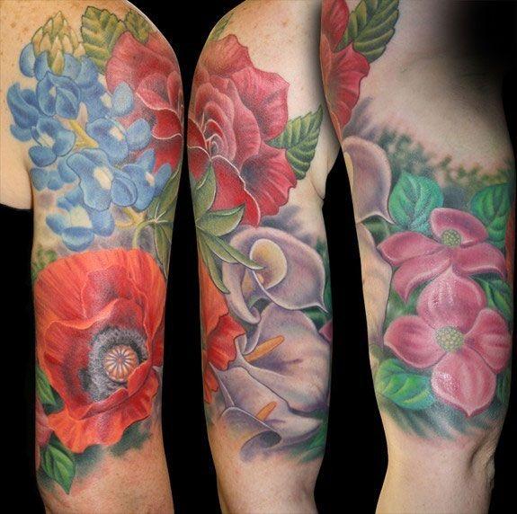 Floral Half Sleeve Tattoos For Women Tattoos For Women Half Sleeve Sleeve Tattoos For Women Floral Tattoo Sleeve