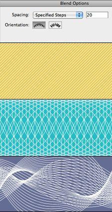 Method Craft Blend Tool Guilloche Patterns Illustrator