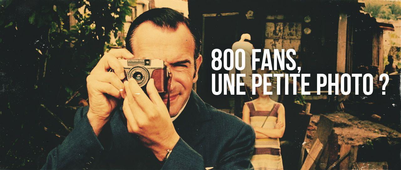 800 fans.