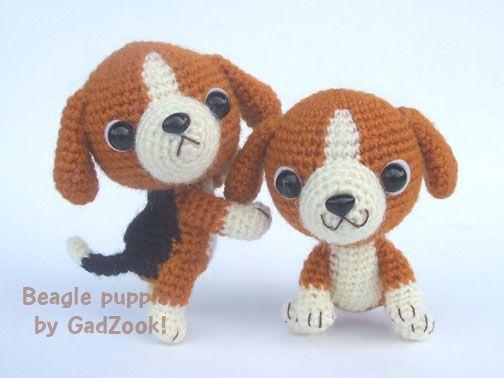 Amigurumi Lion Perritos : Beagle puppy pdf crochet pattern amigurumi crochet and dog