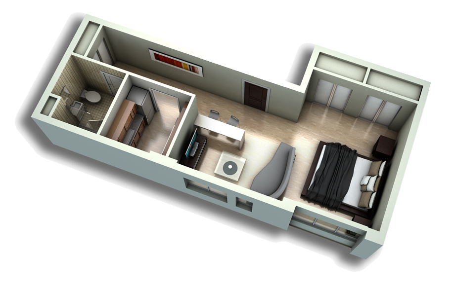 layout. note the desk area. | Home Decor | Pinterest | Studio ...