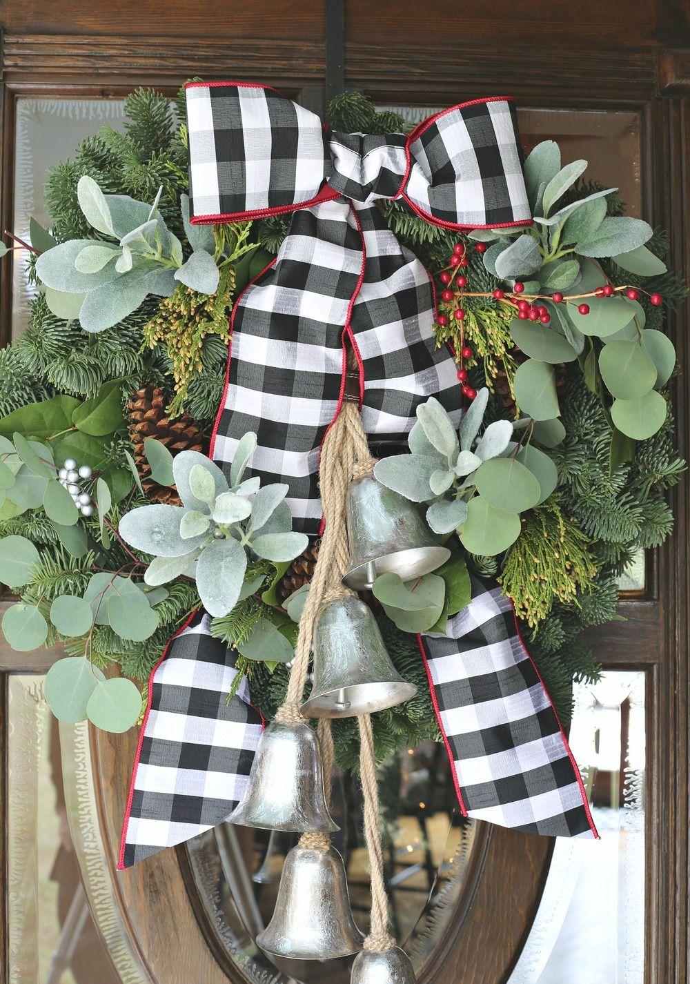Modern Farmhouse Christmas Home Tour Christmas wreaths