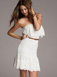 Victoria Secret White Summer Dress Sooo Cute