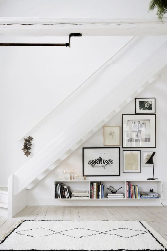 7 Ingenious Ideas For The Space Under The Stairs Daily Dream Decor