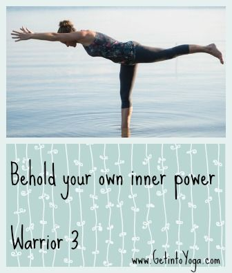 warrior 3 and other yoga poses from getintoyoga  yoga