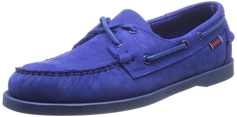 nya stilar bästsäljande utloppsbutik Sebago Docksides, Men's Boat Shoes, Blue (Bright Blue), 7 UK
