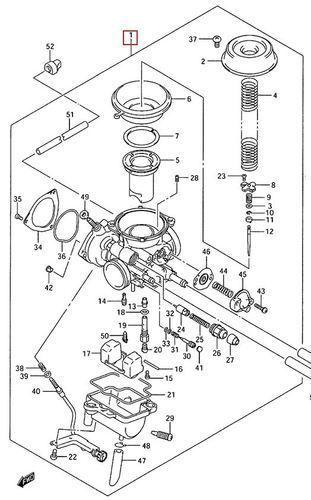 suzuki ozark carburetor diagram