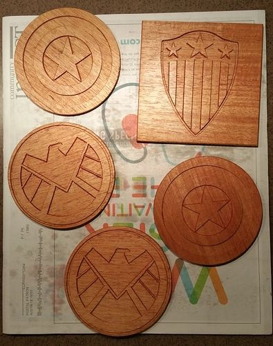 Anyone Else Making Coasters Projects Inventables Community