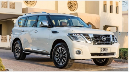 Drive Nissan For Superb Durability And Ride Comfort With Images Nissan Patrol Nissan Car Dealership