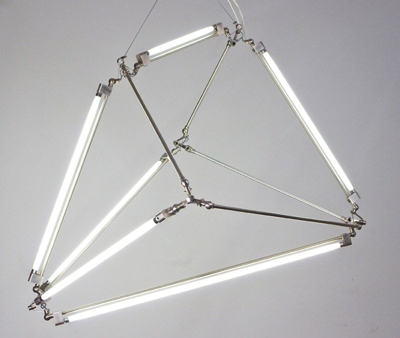 Thin Led Tube Lamp Shy Light By Bec Brittain Tube Lamp Led Tube Light Fluorescent Tube Light