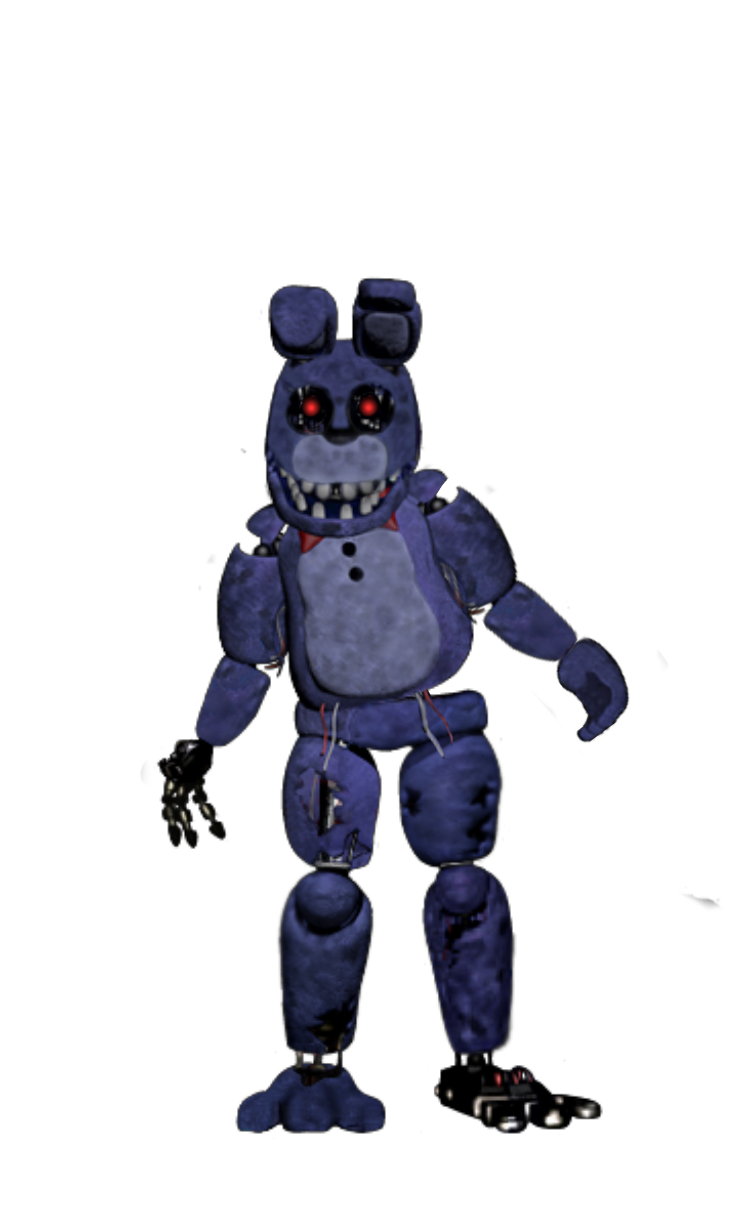 Withered Bonnie Thankyou Teaser With Face And Arm 1987 Mundo Geek
