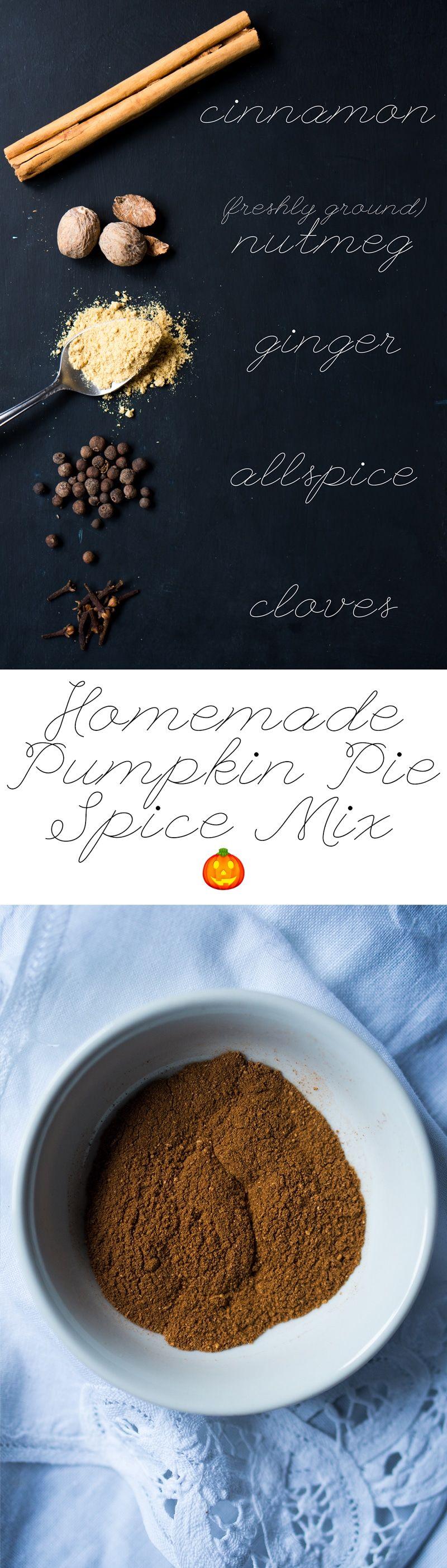 Homemade Pumpkin Pie Spice Mix 🎃 Pumpkin pie spice mix