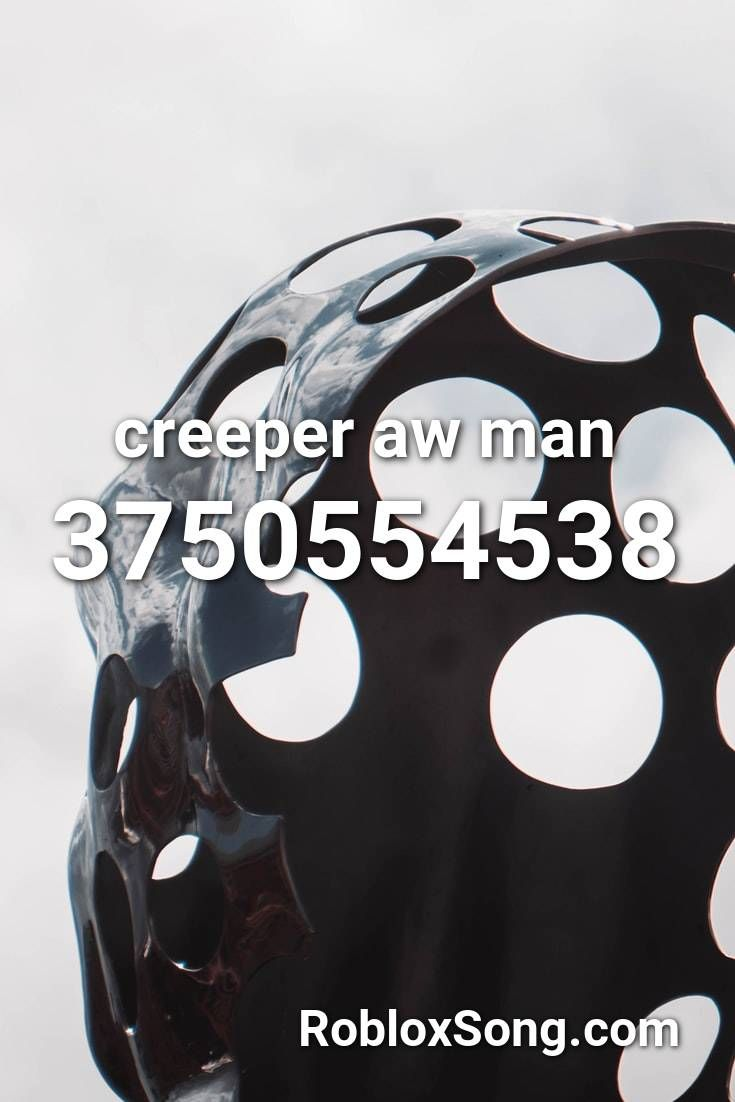 id for creeper aw man roblox