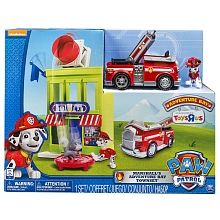 Paw Patrol Adventure Bay Town Set with Marshall, Toys R Us ...