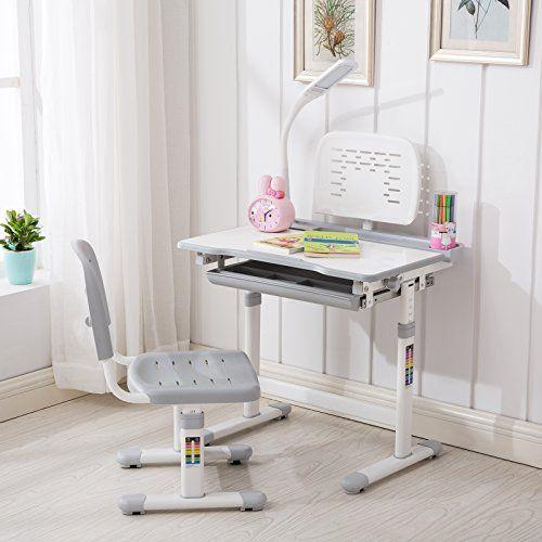 Gtm Children S Adjustable Study Desk Chair Set Child Kids