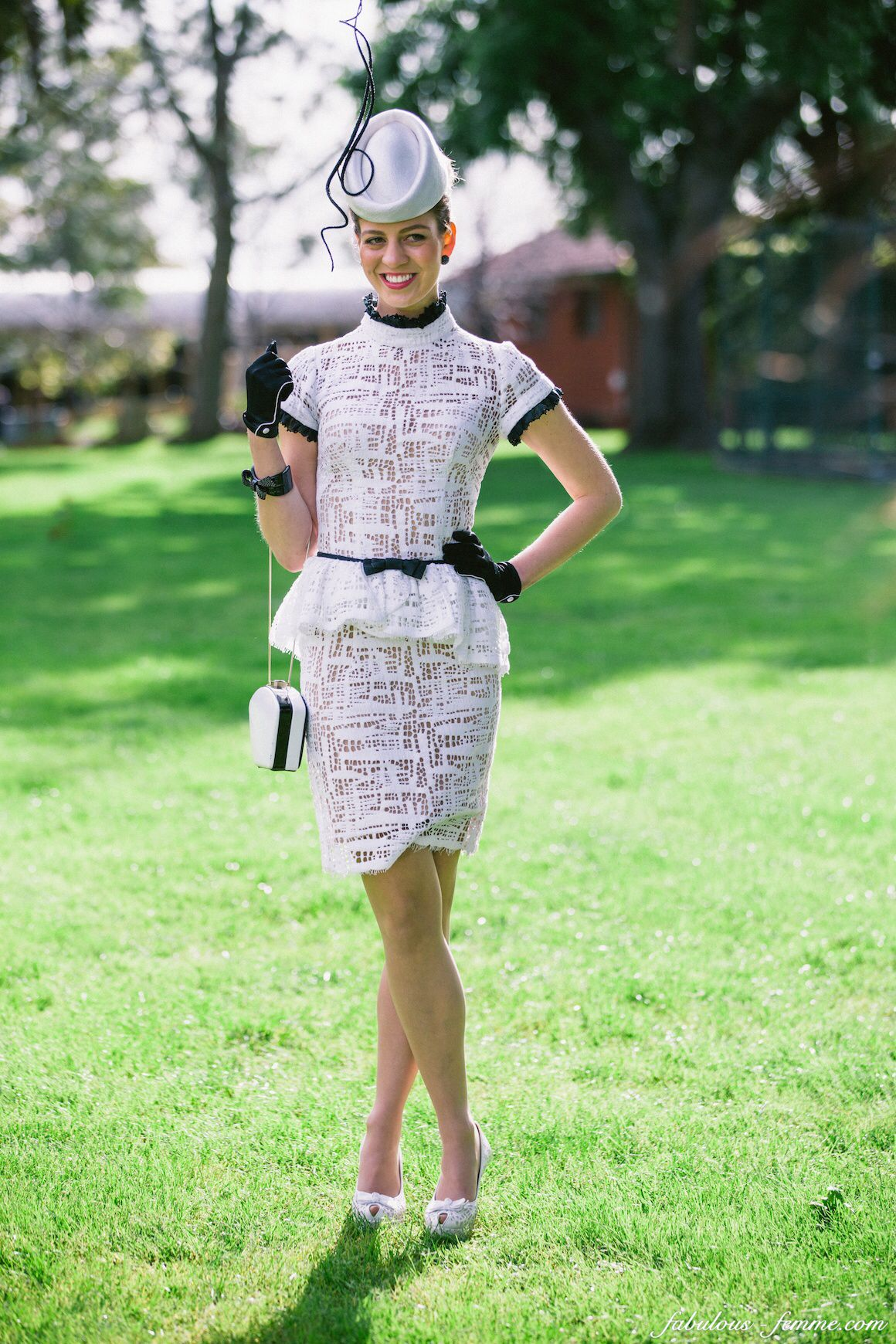 inspirational ideas for race day dress fascinator races