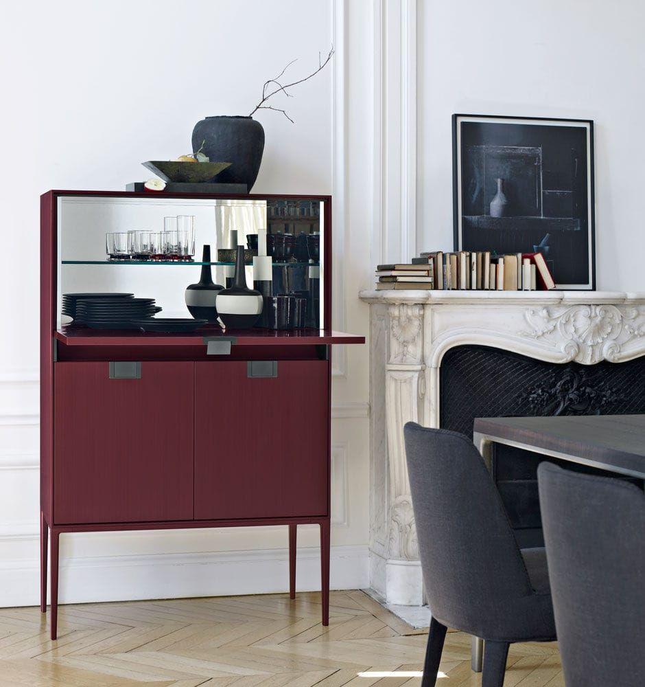 Meuble bar contemporain / en bois / par Antonio Citterio - ALCOR ...