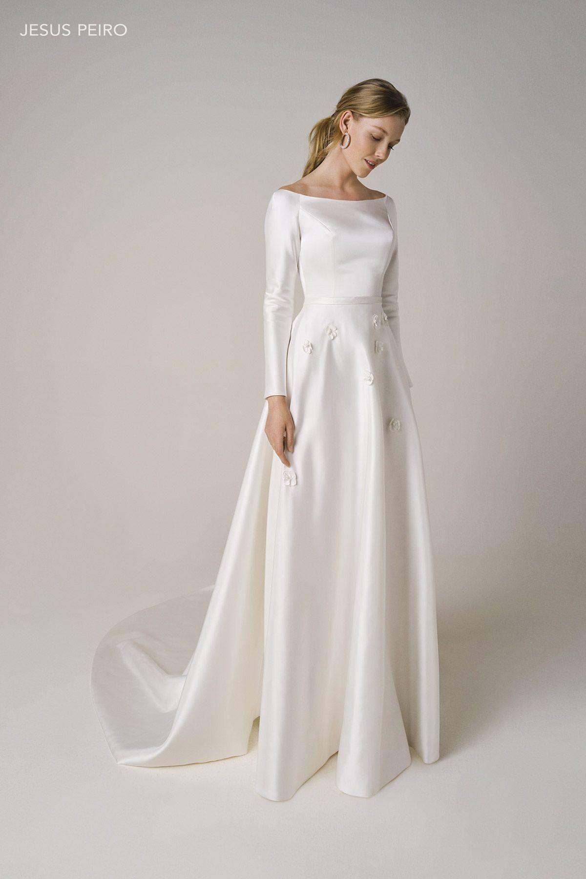 Jesus Peiro Amalia Collection 2021 In 2020 Dresses Wedding Dresses Wedding Dress Styles