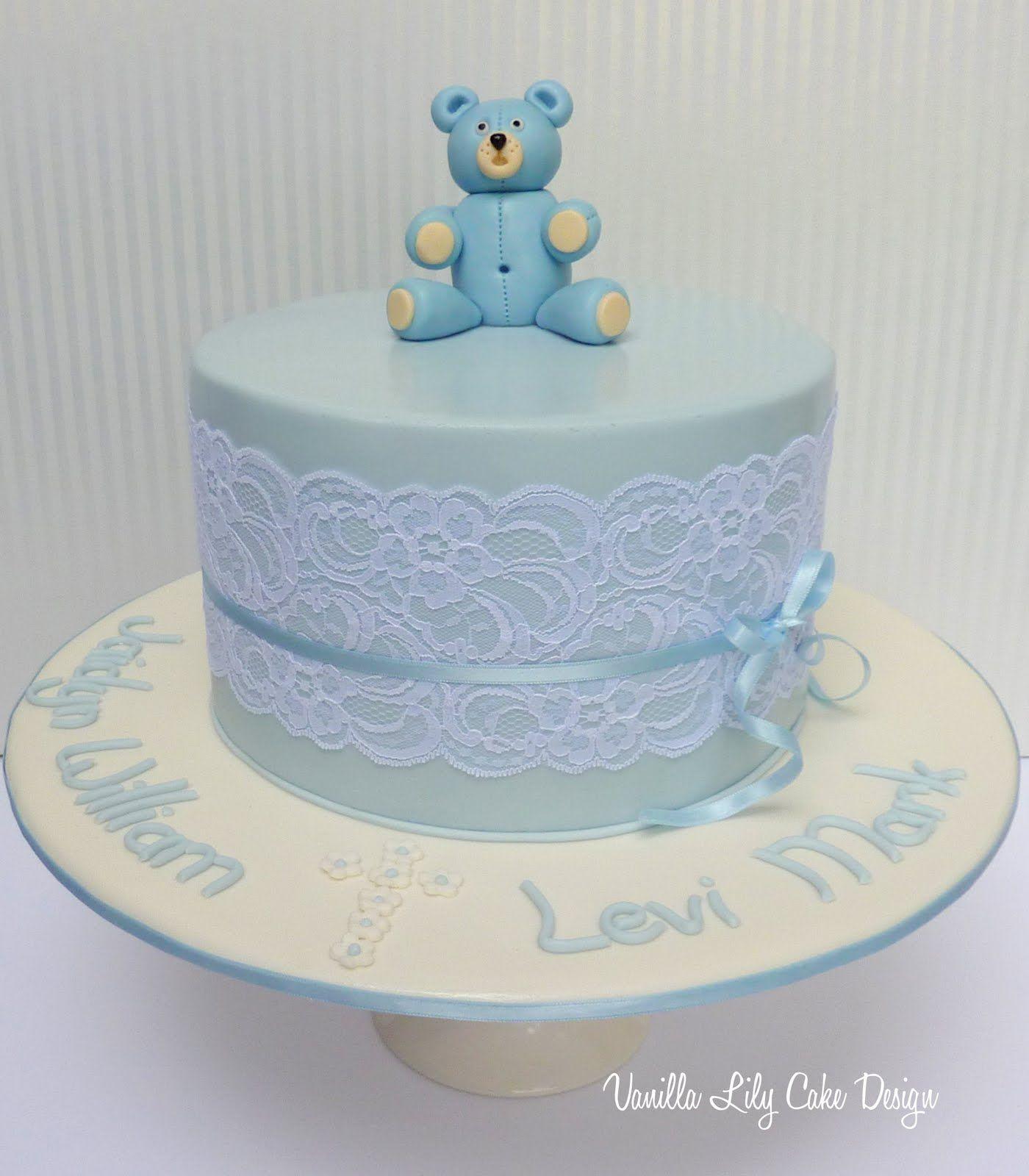 Baptism Cake Ideas For Boys