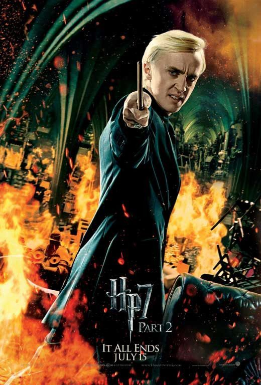 Harry Potter And The Deathly Hallows Part Ii 27x40 Movie Poster 2011 Harry Potter Movies Harry Potter Poster Draco Malfoy