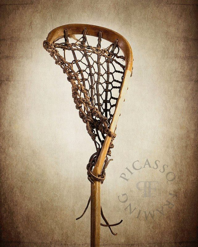 Vintage Lacrosse Connor Has One In