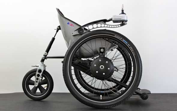 Image of the Trekinetic all terrain wheelchair wheelchair