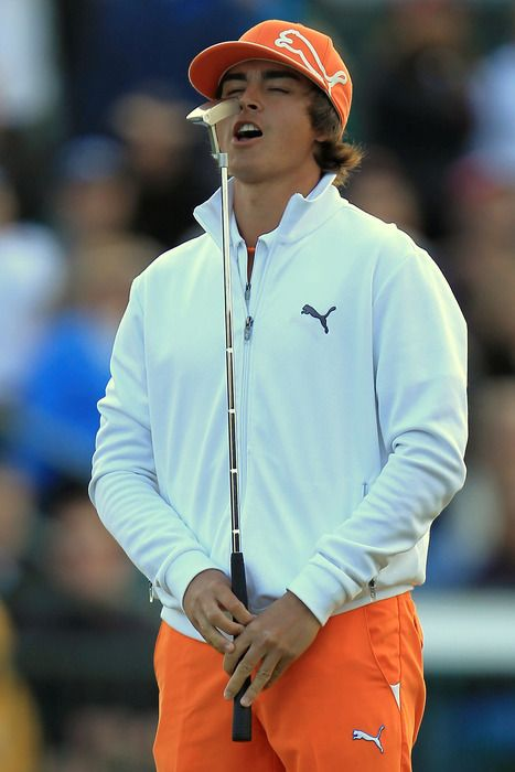 Rickie Fowler- one of the main reasons to watch golf on TV