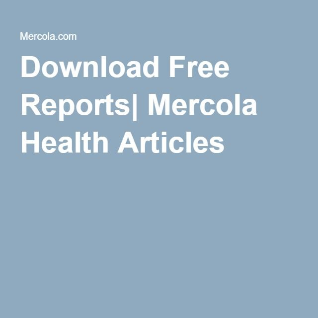 Download Free Reports| Mercola Health Articles | Fancy Sandwiches ...