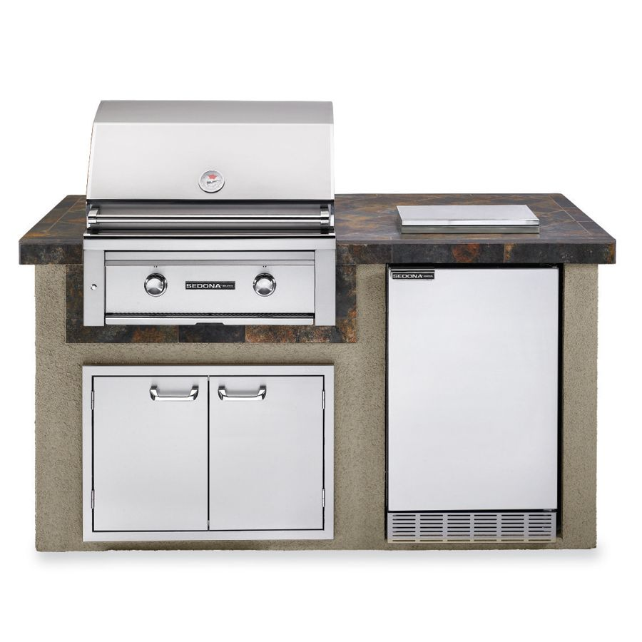 Chef King Outdoor Kitchen L Shaped Grill Bbq Island Ck020 Outdoor Kitchen Bbq Island Outdoor Bbq