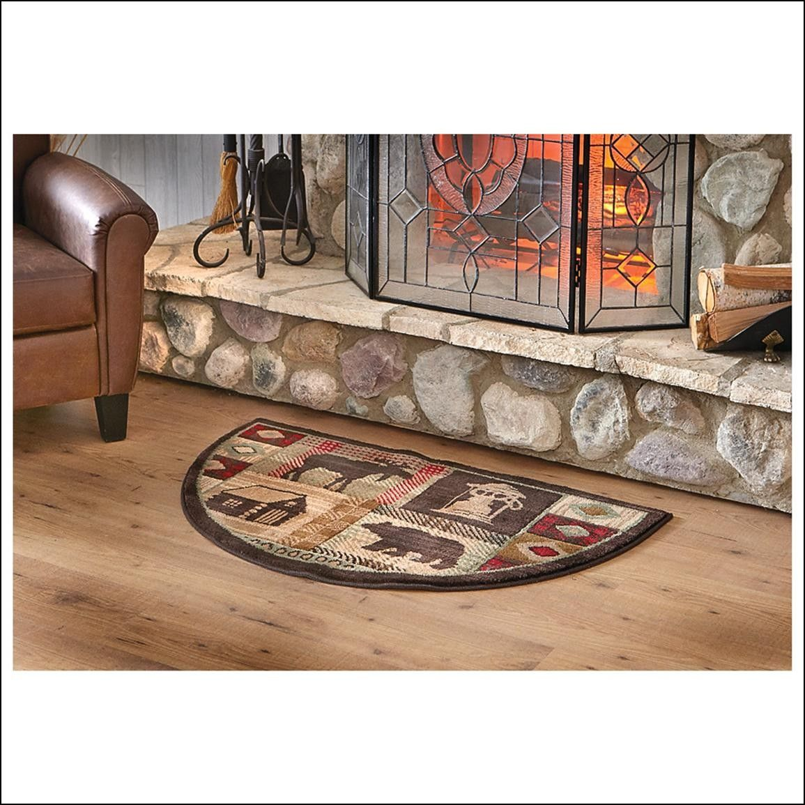 Fire Ant Hearth Rugs