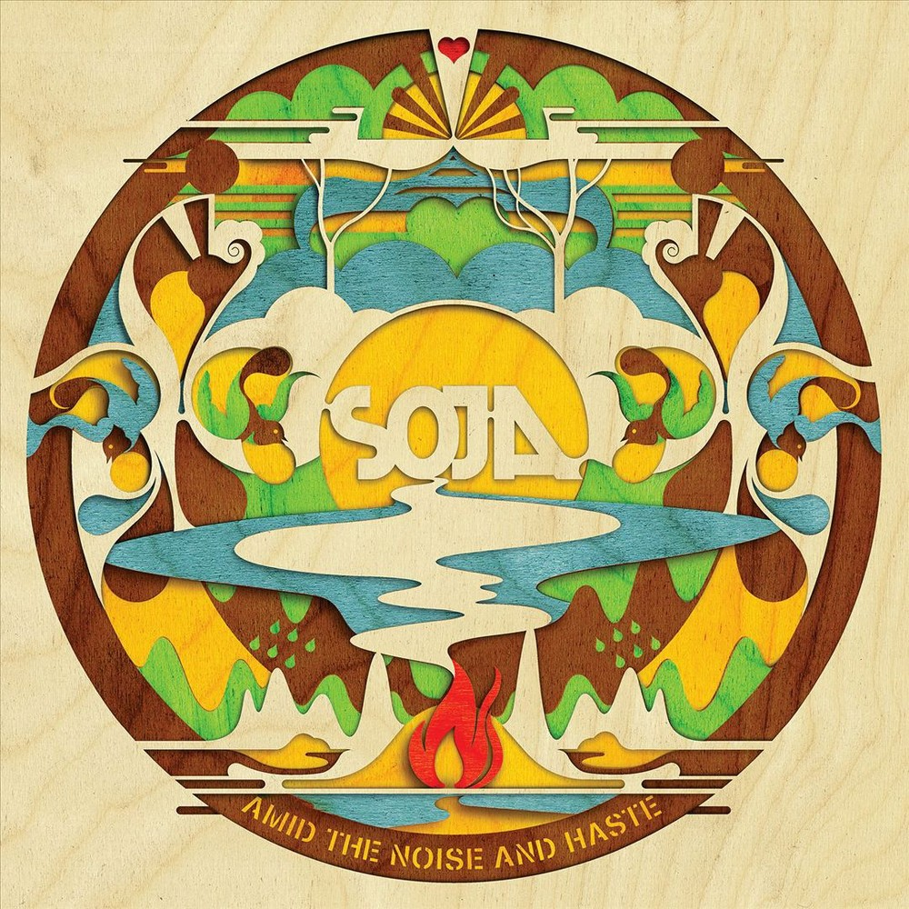 Amid The Noise And Haste Pop Music Soja Gold Vinyl Album