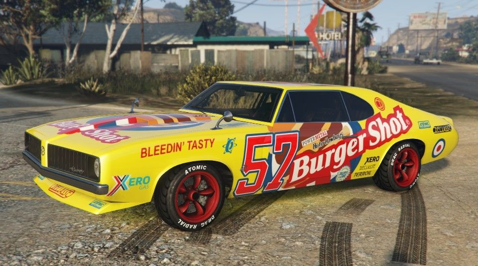 Burger shot stallion gta 5 side gta cars gta gta 5