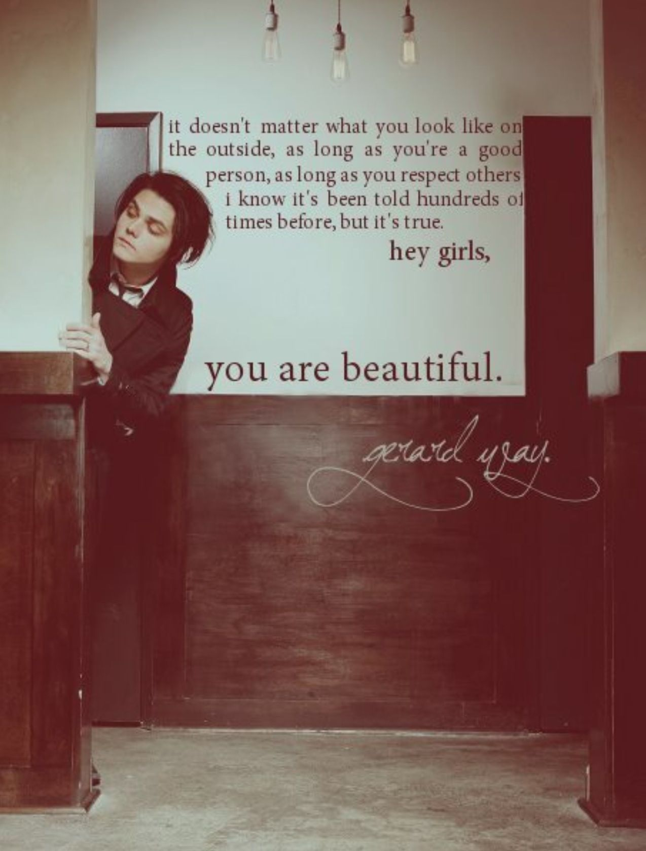 Gerard Way Quote My Chemical Romance Band Quotes Gerard Way