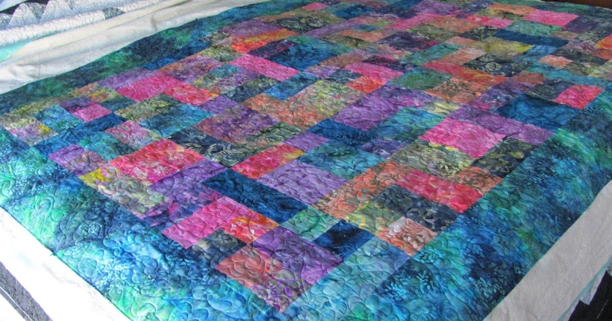 I just love the colors Noreen chose to put into her Yellow Brick Road . It looks like a Monet.   This is such a great pattern, I've lo...