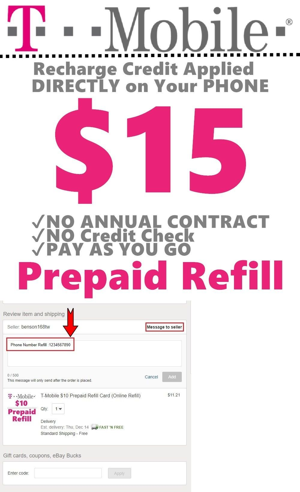 Phone And Data Cards 43308 T Mobile 15 Prepaid Refill Ecard Online Recharge Service Buy It Now Onl Prepaid Phones Travel Sim Card International Sim Card