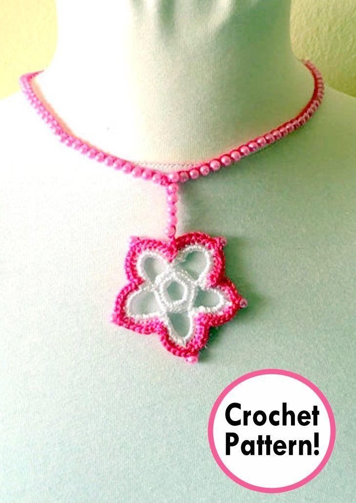 Jewelry Crochet Pattern Crochet Jewelry Pattern Jewelry Crochet